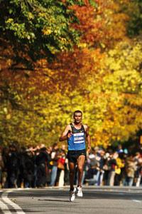 Abderrahim Goumri 2ème au marathon de New York