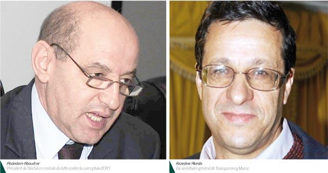 Aboudrar et Akesbi dans un débat autour de la corruption