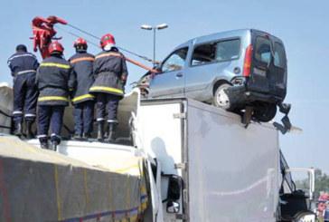 Accidents de la circulation : 14 morts et 1.469 blessés en une semaine