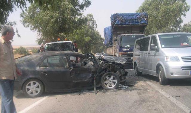 Laâyoune : Deux morts et trois blessés dans un accident de la route
