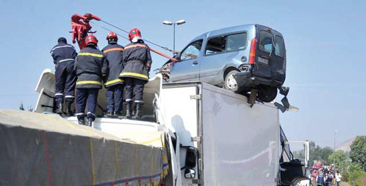Accidents de la circulation : 18 morts et 1.516 blessés en une semaine