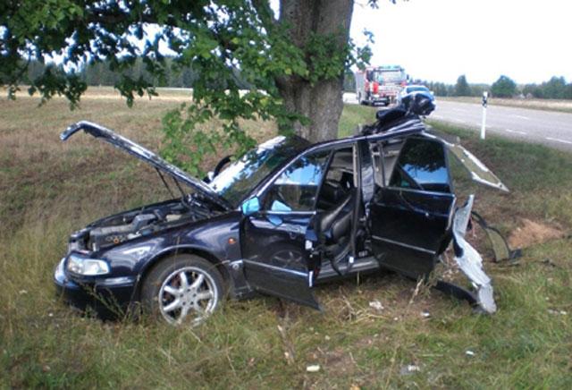Accident de la route près de Oualidiya