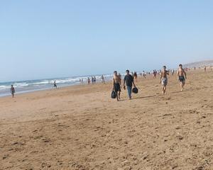 Plages du Maroc : Achakar : La brise atlantique souffle sur Tanger