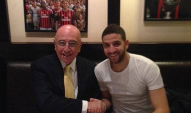 Adel Taarabt  au Milan AC