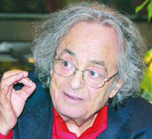 Le poète syrien Adonis nominé
