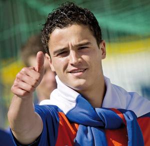 Ibrahim Afellay, première recrue hivernale du FC Barcelone
