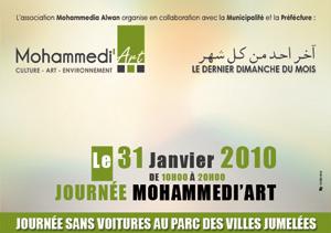 Mohammedi'Art : une journée sans voiture inspirant l'art et l'air pur