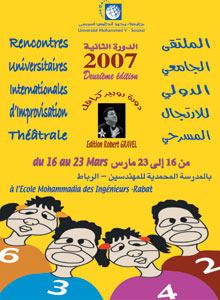 Improvisation théâtrale à Rabat