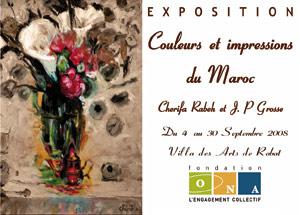 Exposition à la Villa des arts : «Couleurs et impressions du Maroc»