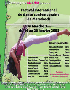 Festival international de la danse contemporaine : «On marche» à Marrakech