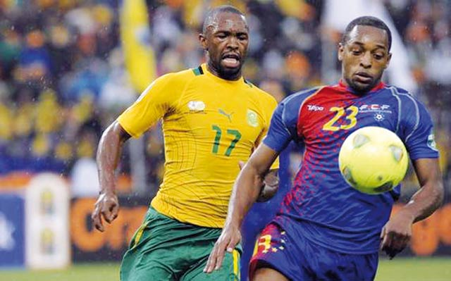 Les Bafana Bafana accrochés par le Cap-Vert en match d ouverture