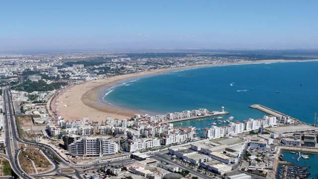 Les nuitées grimpent à Agadir