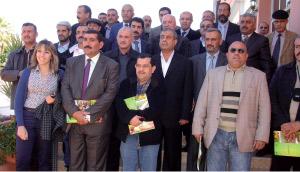 Berkane : Visite d'une délégation d'agriculteurs irakiens