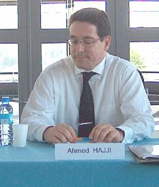 Ahmed Hajji en France