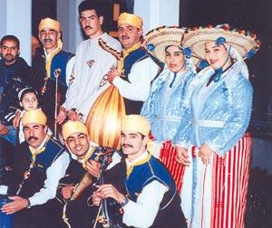 Taktouka Jabalia, le folklore chamali venu des montagnes