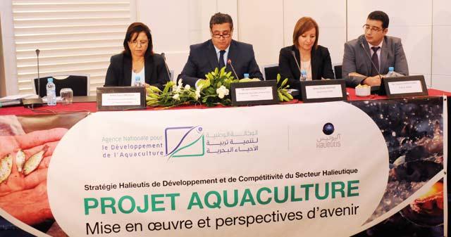 Agence nationale pour le développement de l aquaculture : Lancement d'un appel à manifestation d'intérêt de projets aquacoles