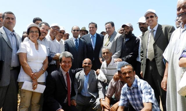 M. Akhannouch : l'Ecole aux champs a pour vocation de rapprocher la vulgarisation agricole des agriculte