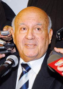 La position du Paraguay constante