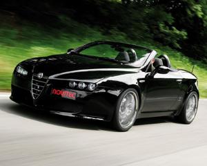 Le bolide : Alfa Romeo Spider par Novitec