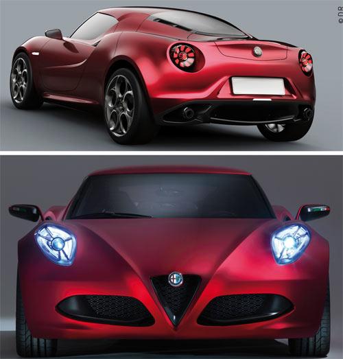 Alfa Romeo 4C : Une bonne nouvelle pour 2013