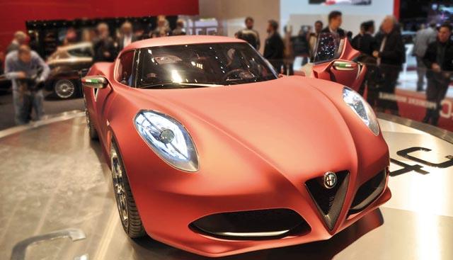 Alfa Romeo 4C : Genève 2013?