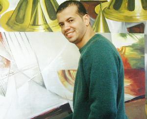 Amal Barkaoui, l'harmonie des couleurs d'un sourd-muet