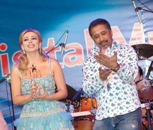 Cheb Khaled fait oublier Amal Hijazi