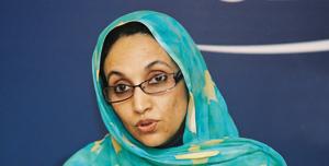 Interpellation d'Aminatou Haidar à l'aéroport de Laâyoune