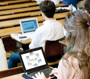 Treize universités adoptent le procédé de Google