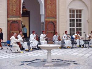 Communion dans l'amour de la musique andalouse