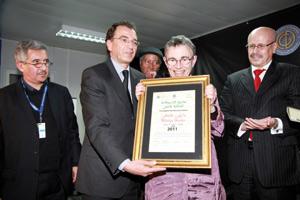 L'Américaine Marilyn Hacker lauréate du prix «Argana 2011»