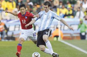 Les Argentins, premiers qualifiés pour les 8èmes de finale