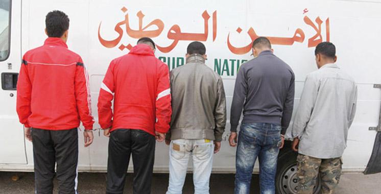 Laâyoune: Arrestation de 7 malfrats recherchés