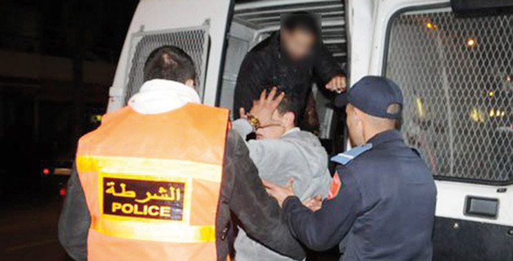 DGSN :  Plus de 1.600 arrestations en une journée !