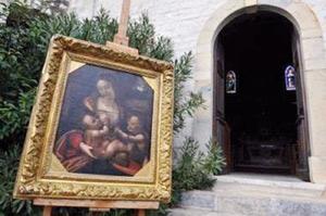 Une expertise met en doute un tableau de Léonard de Vinci