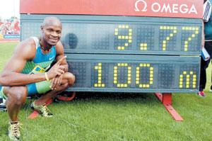 Athlétisme : Powell fidèle à lui-même