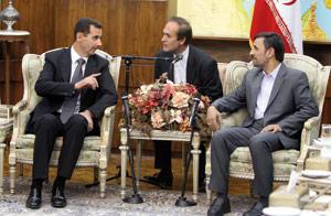 Téhéran et Damas renforcent leurs liens et critiquent les négociations au PO