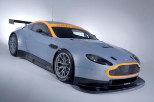Le bolide : Aston Martin Vantage GT2