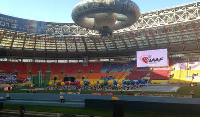 Moscou : Ouverture des 14èmes Mondiaux d'athlétisme avec la participation du Maroc