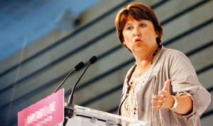 France : Martine Aubry martyrise Georges Frêche