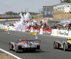 24 Heures du Mans 2006 : Audi s'impose et en diesel