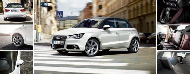 Audi A1 Sportback City Like : Aux (2) portes de la ville