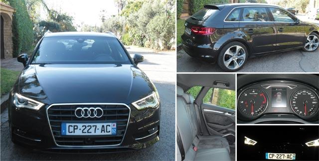 Audi A3 Sportback : L anneau de la fidélité!