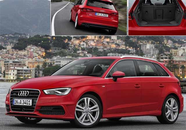 Audi A3 Sportback : Des anneaux pour tous !