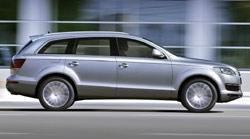 Audi Q7 : le franchisseur des anneaux
