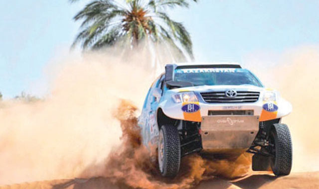 Rallye Oilibya Maroc : Un Argentin sur le podium