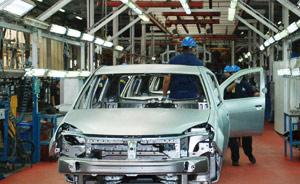 La production industrielle continue sa progression