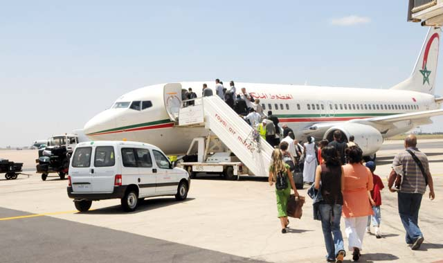 Maroc/Trafic aérien : plus de 1.5 million de passagers en octobre