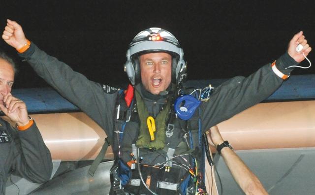 Le Solar Impulse atterrit au Maroc