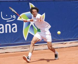 Younès El Aynaoui au Grand Prix Hassan II
